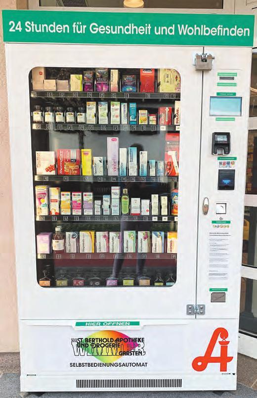Die Medybox: gut bestückt und immer zugänglich Foto: Wimmer