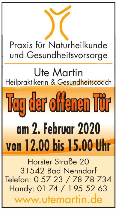 Ute Martin Heilpraktikerin & Gesundheitscoach
