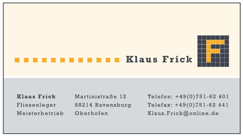 Klaus Frick