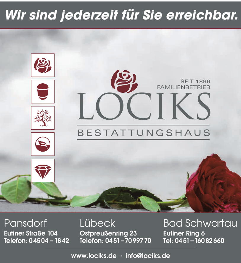 Lociks Bestattungshaus