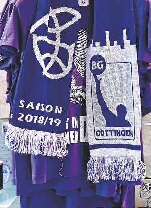 Support für die BG Göttingen FOTO: R