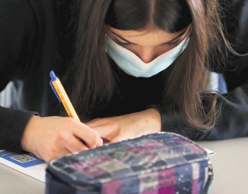 Immer mehr Schülerinnen und Schüler besuchen eine Privatschule DPA/KARL-JOSEF HILDENBRAND