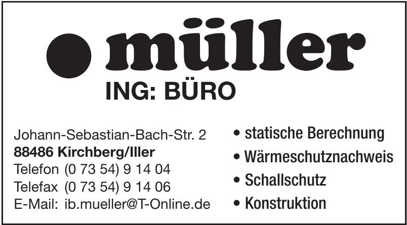 müller Ingenieurbüro GmbH