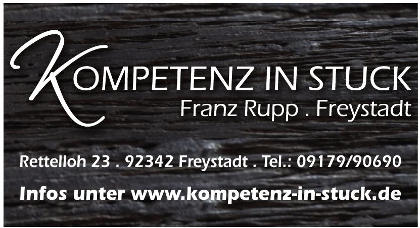 Franz Rupp Stuck