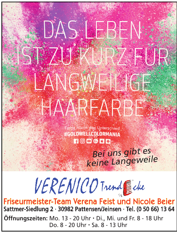Verenico Trendecke Friseurmeister-Team Verena Feist und Nicole Beier