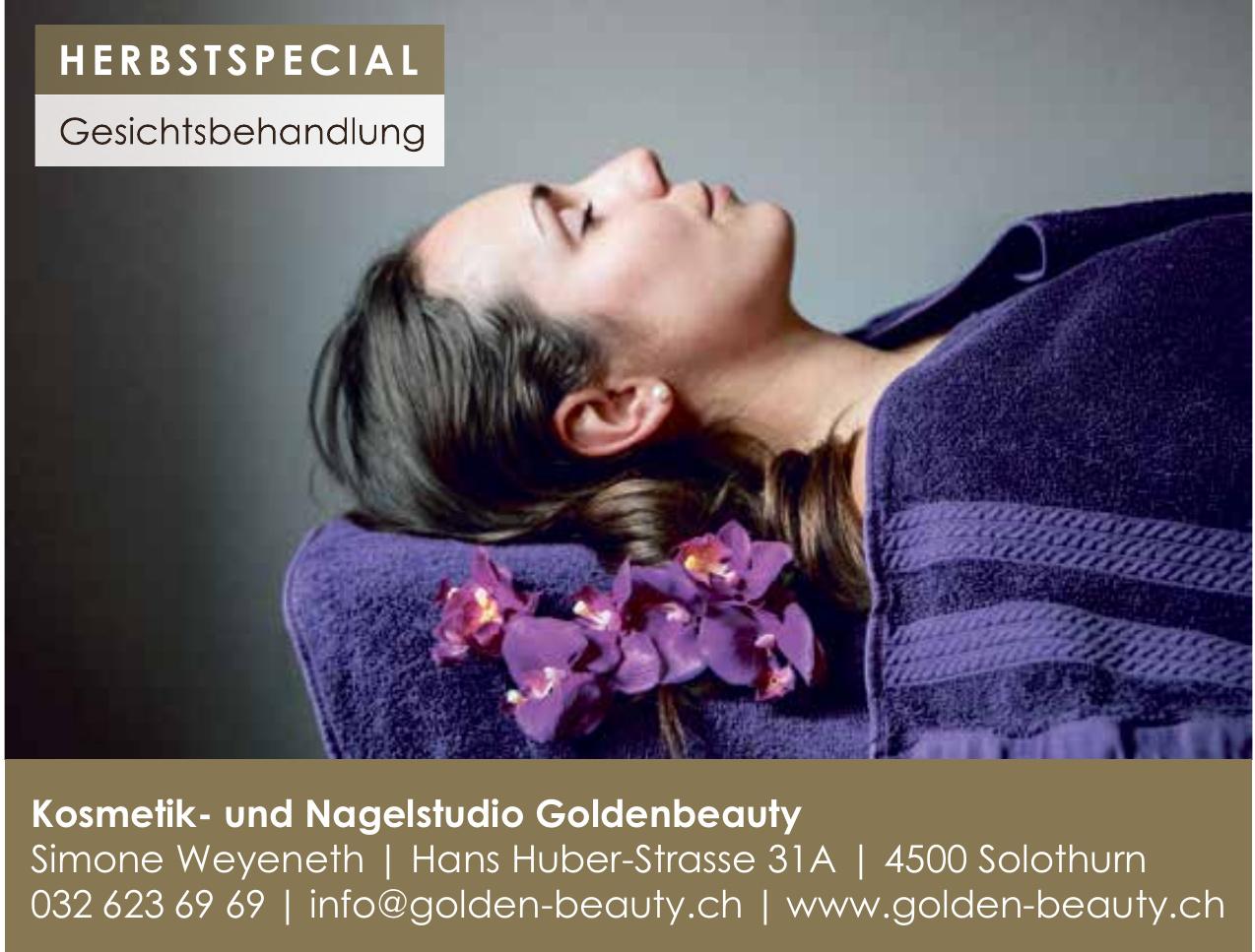 Kosmetik- und Nagelstudio Goldenbeauty Simone Weyeneth