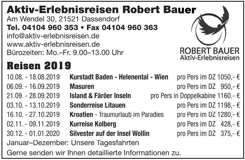Aktiv-Erlebnisreisen Robert Bauer