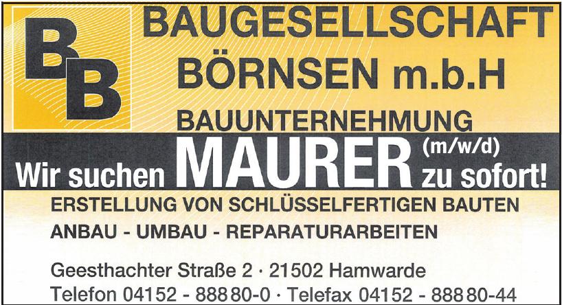 Baugesellschaft Börnsen m.b.H.