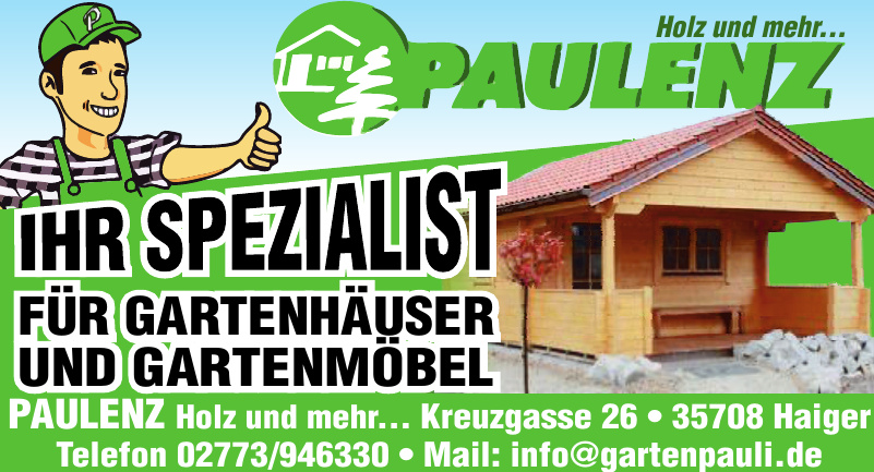 PAULENZ Holz und mehr...