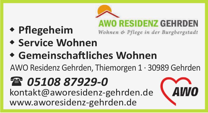 AWO Rezidenz Gehrden