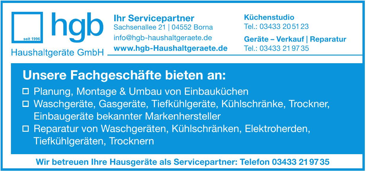 HBG Haushaltgeräte GmbH