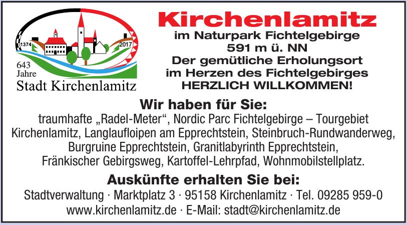 Stadt Kirchenlamitz