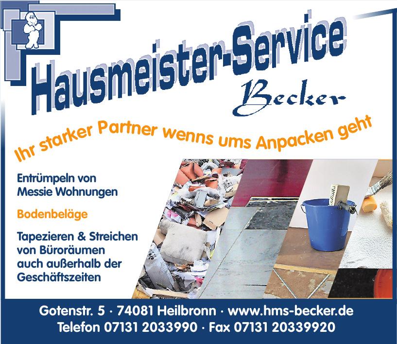 Hausmeister-Service Becker