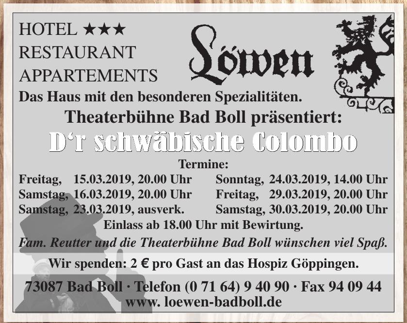 Hotel Löwen Bad Boll e.K.