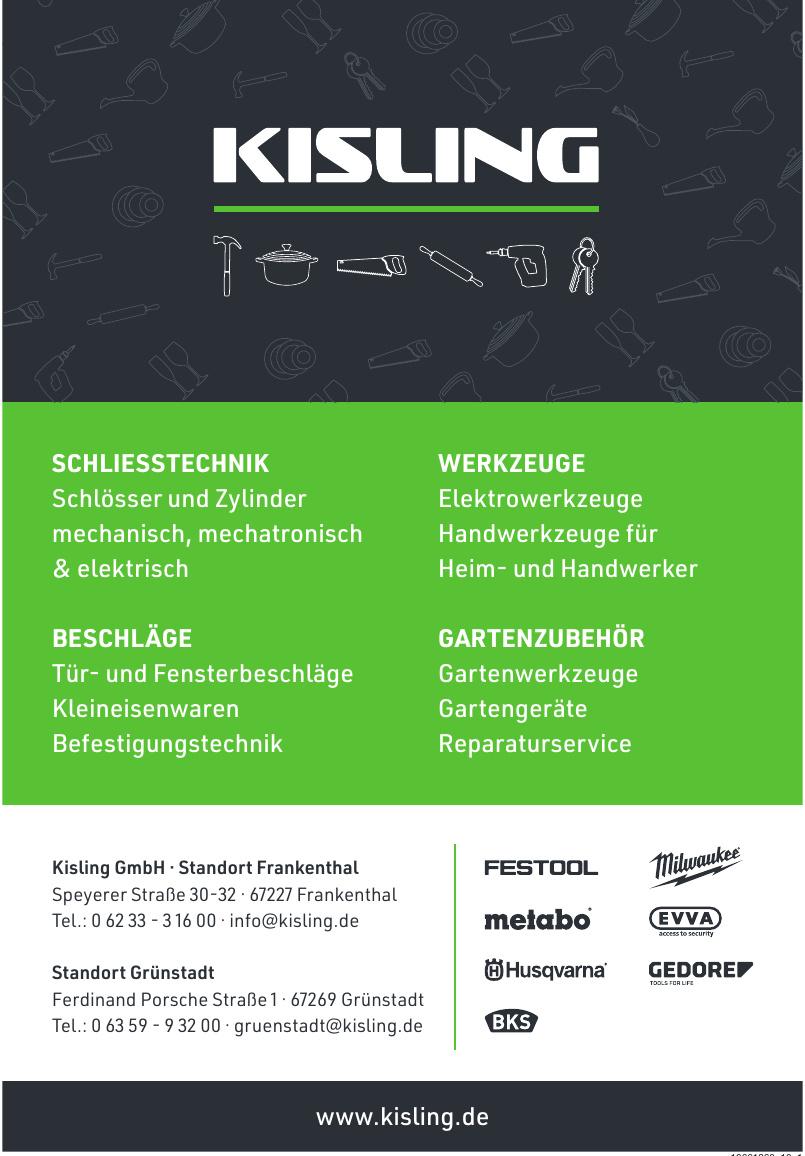 Kisling GmbH - Standort Frankenthal