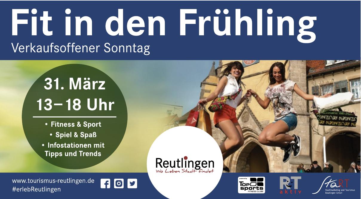 StaRT Stadtmarketing und Tourismus Reutlingen GmbH