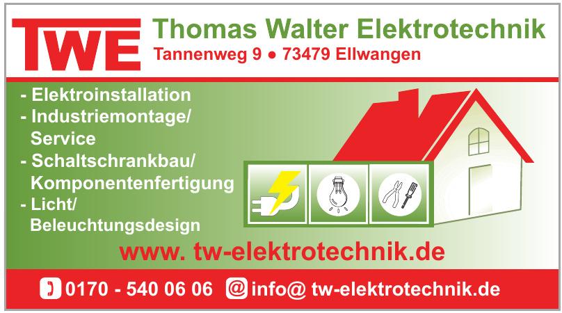 TWE Thomas Walter Elektrotechnik