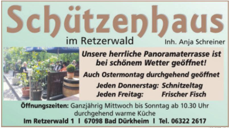 Schützenhaus im Retzerwald
