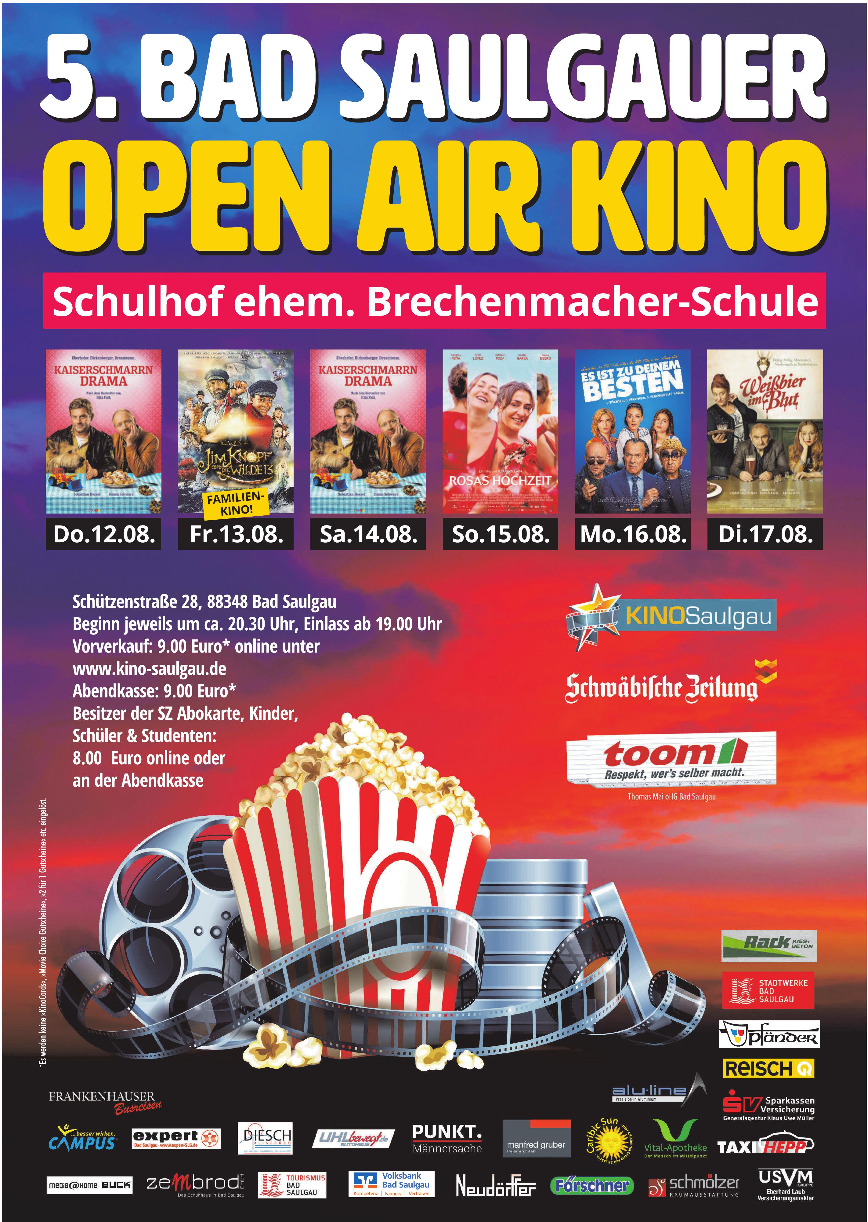 Open Air Kino Saulgau