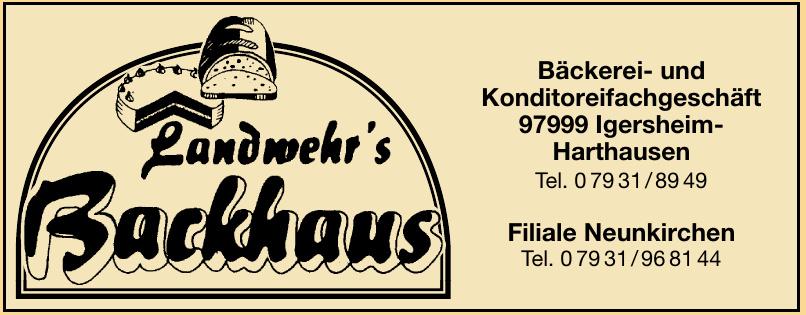 Landwehr´s Backhaus