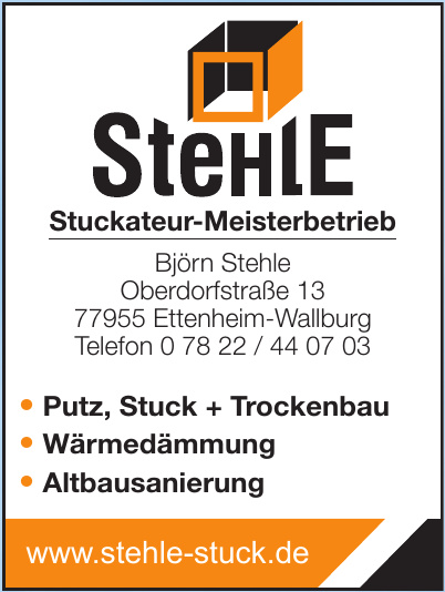 Stehle Stuckateur-Meisterbetrieb