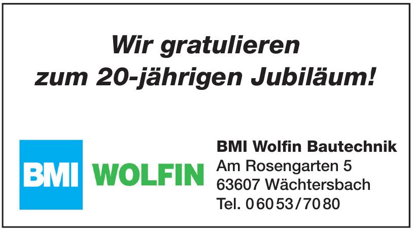 BMI Wolfin Bautechnik
