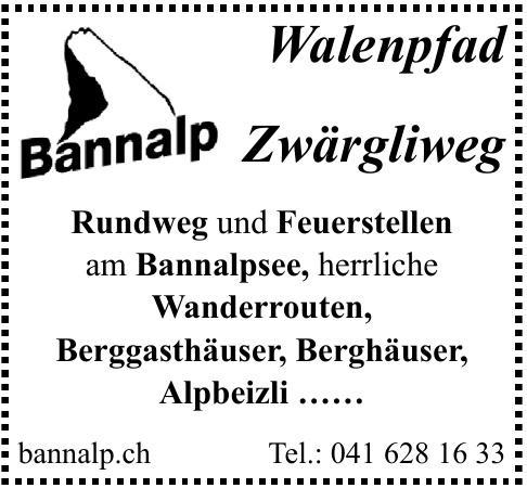 Bannalp