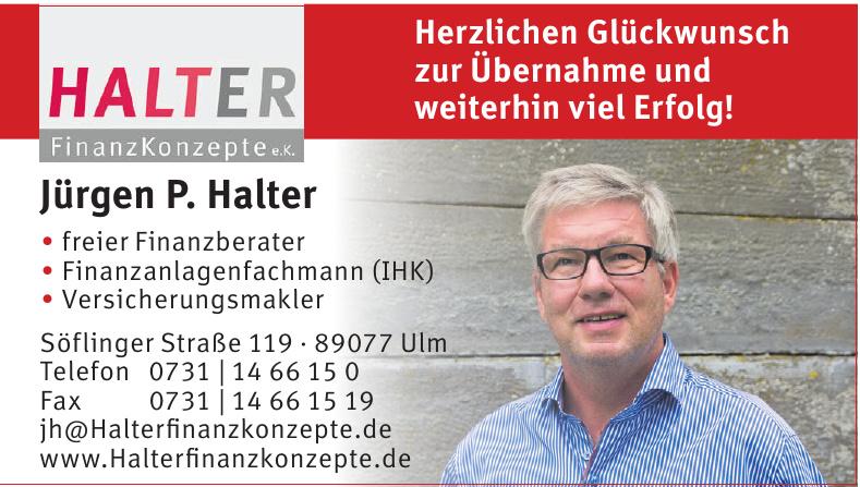 Halter Jürgen P. Halter
