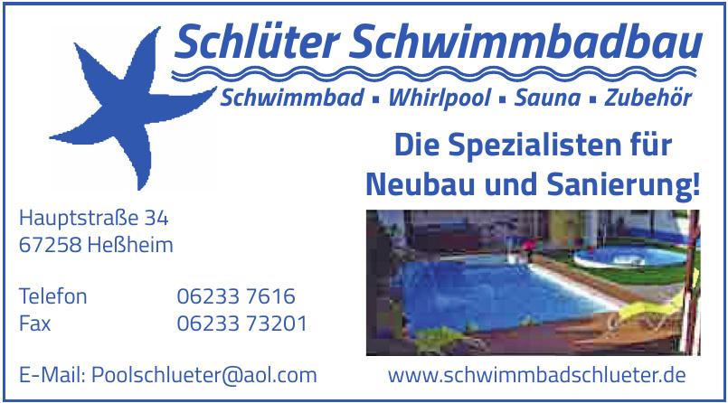 Schlüter Schwimmbadbau