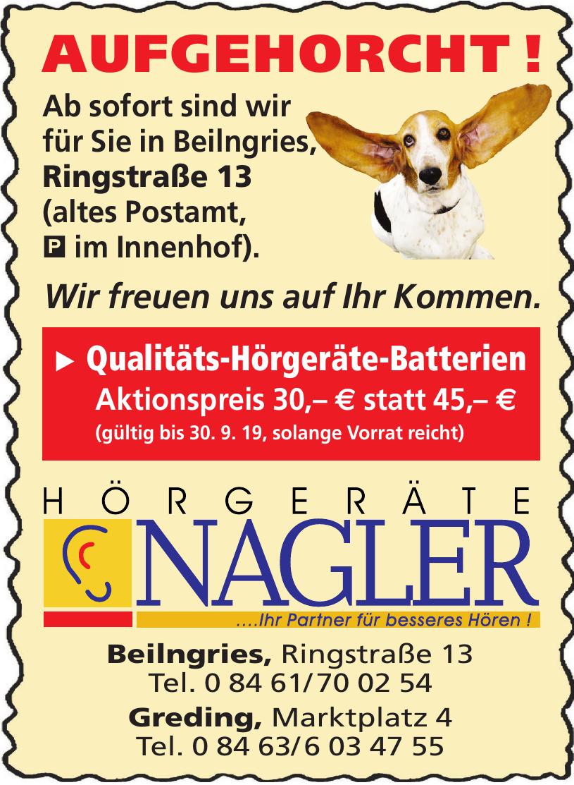 Hörgeräte Nagler
