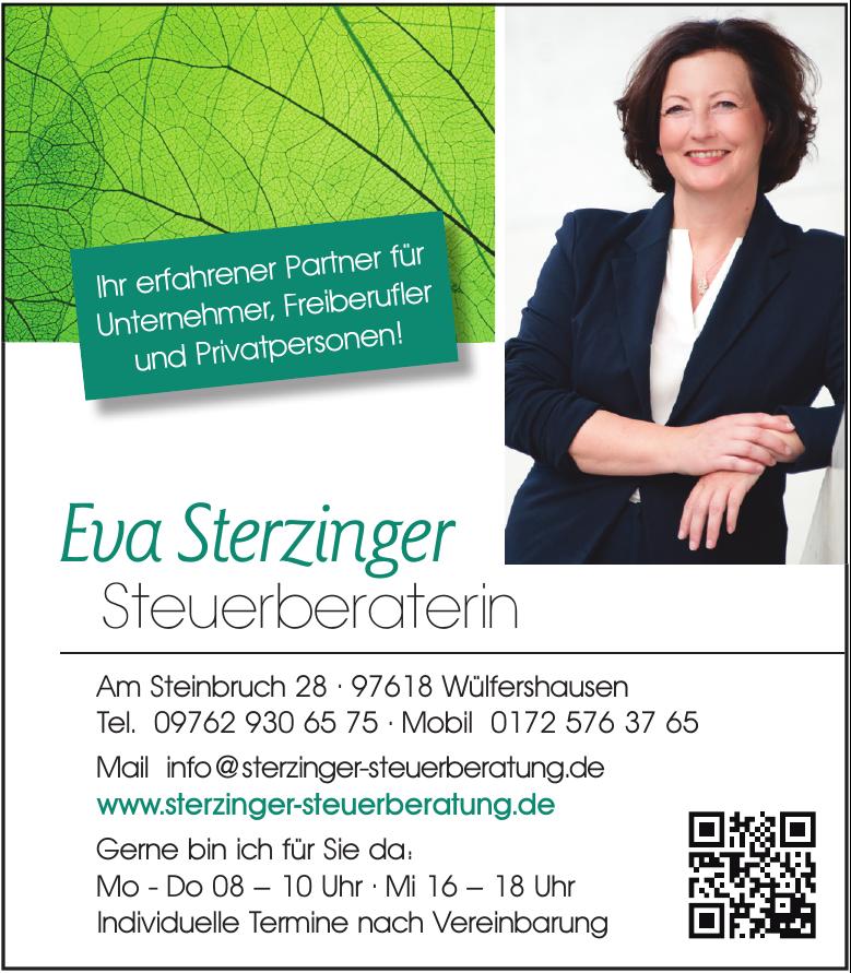 Eva Sterzinger Steuerberaterin