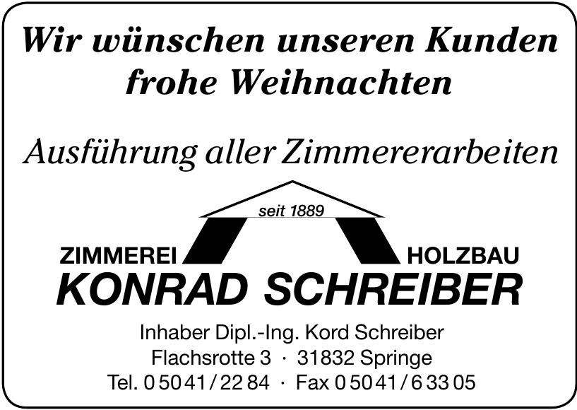 Zimmerei Holzbau Konrad Schreiber