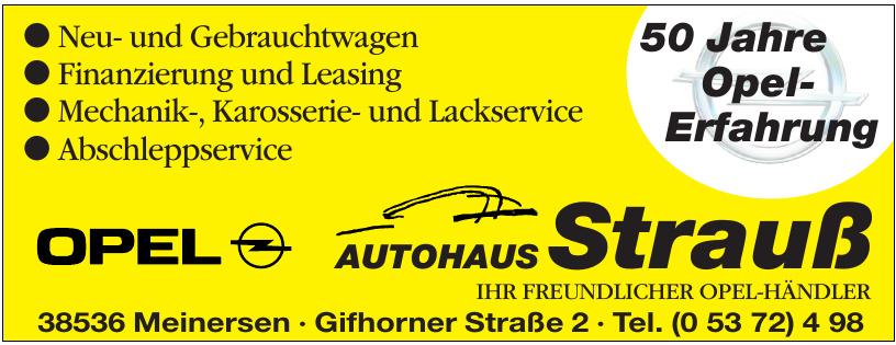 Autohaus Strauß