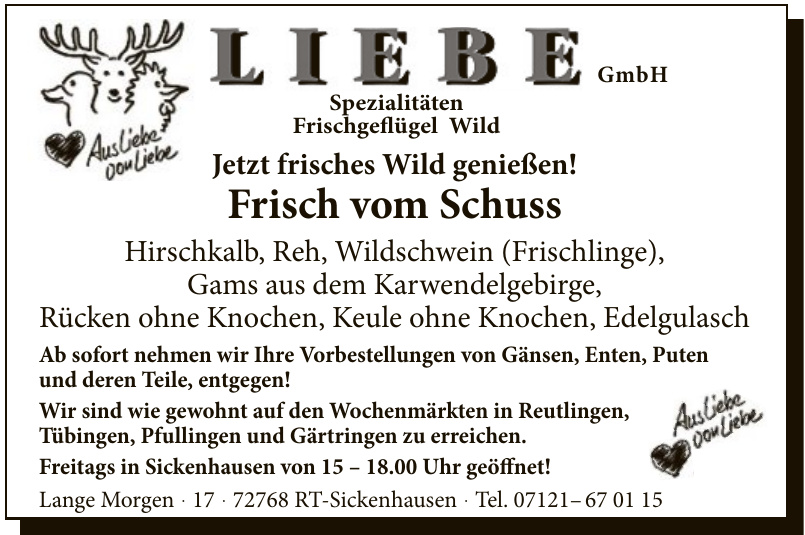 Liebe GmbH
