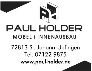 Paul Holder Möbel + Innenausbau