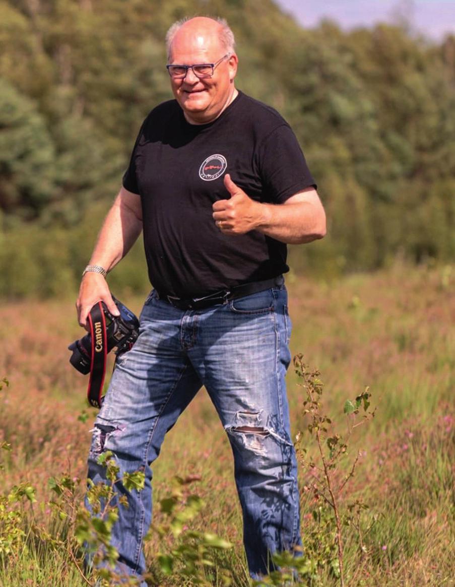 Bernd Wewior liebt es, in der Natur unterwegs zu sein. © Dirk Gildemann
