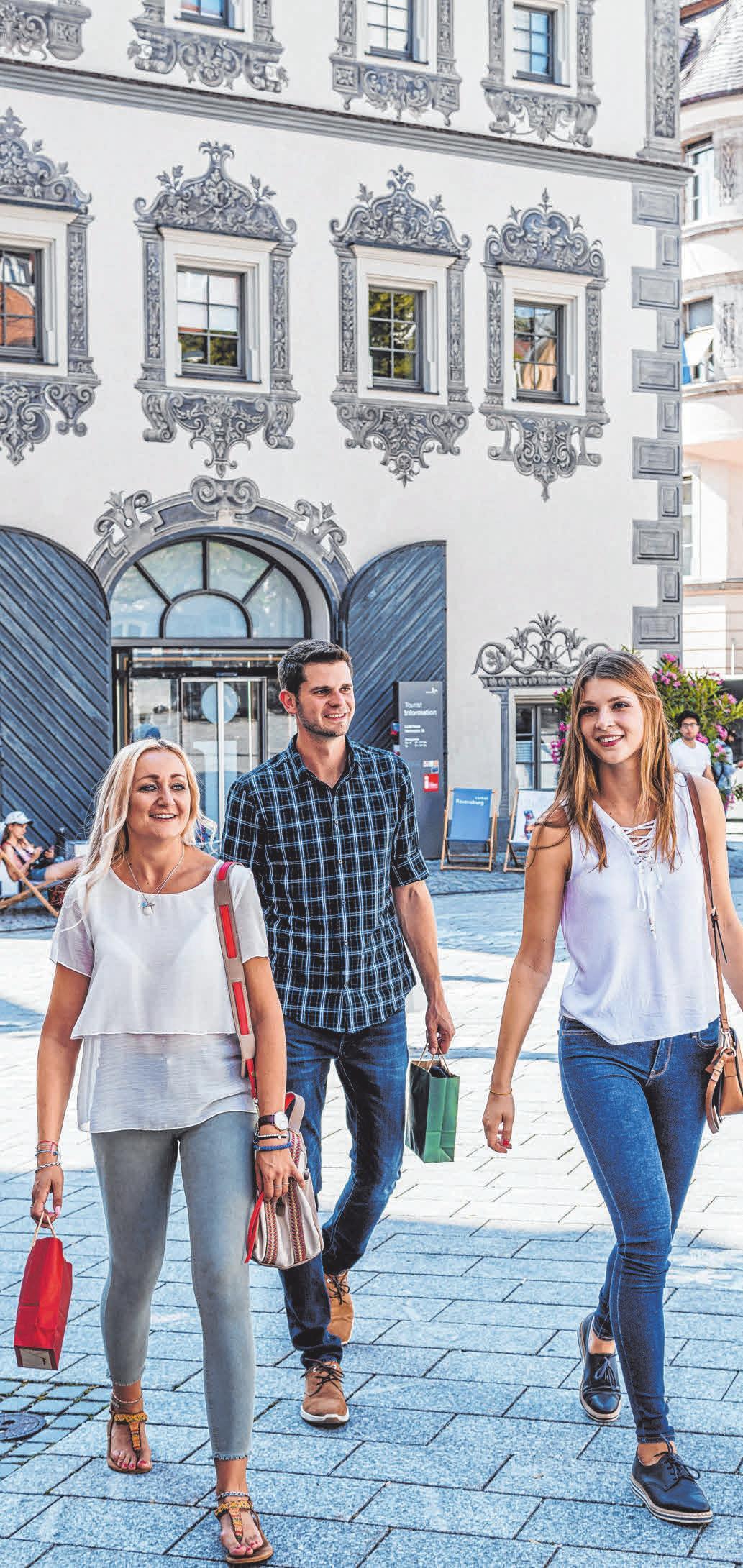 Vele Innenstadt-Geschäfte haben am Sonntag von 13 bis 18 Uhr geöffnet.