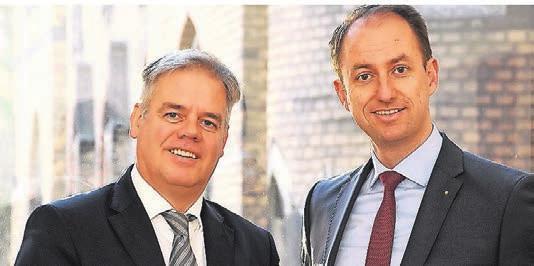 Manfred Zander (l.) und Dr.¬ Jens Schmidt von RSW Rechtsanwälte