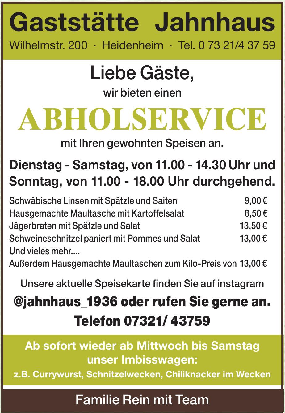 Gaststätte Jahnhaus