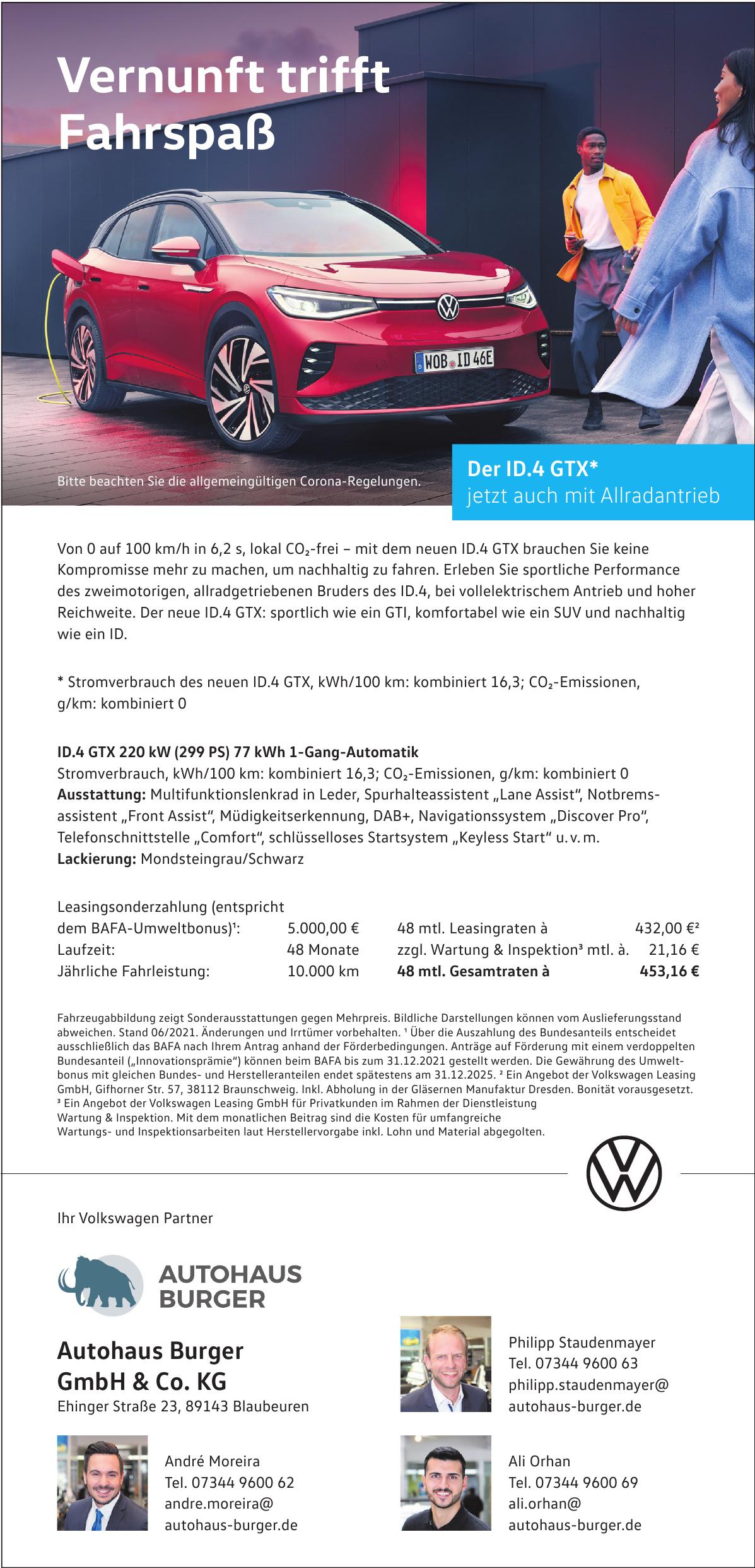 Autohaus Burger GmbH & Co. KG