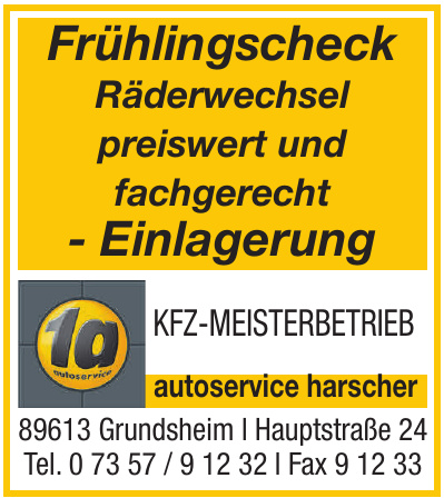1a Autoservice Harscher