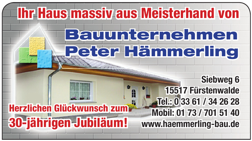 Bauunternehmen Peter Hämmerling