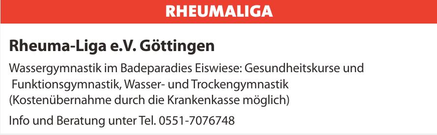 Rheuma-Liga e.V. Göttingen