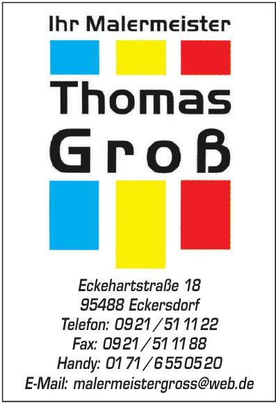 Thomas Groß Malermeister