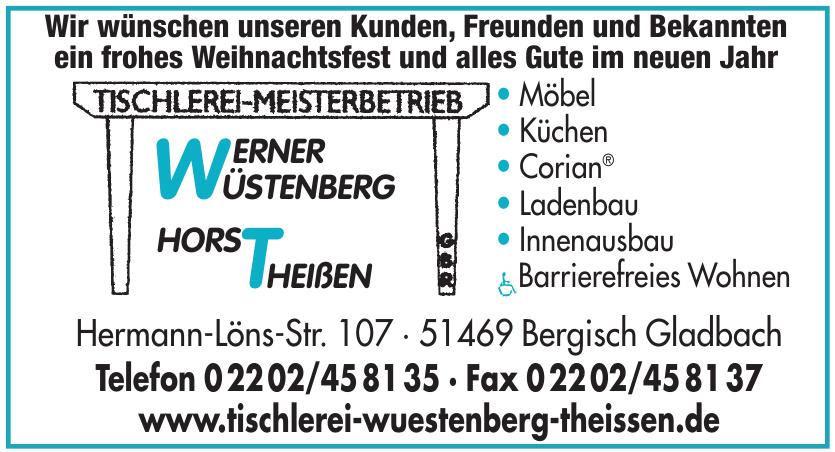 Tischlerei - Meisterbetrieb Wüstenberg & Theißen GbR