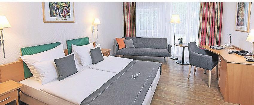 Die Zimmer sind stilvoll und komfortabel eingerichtet.
