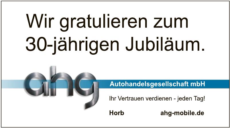ahg Autohandelsgesellschaft mbH