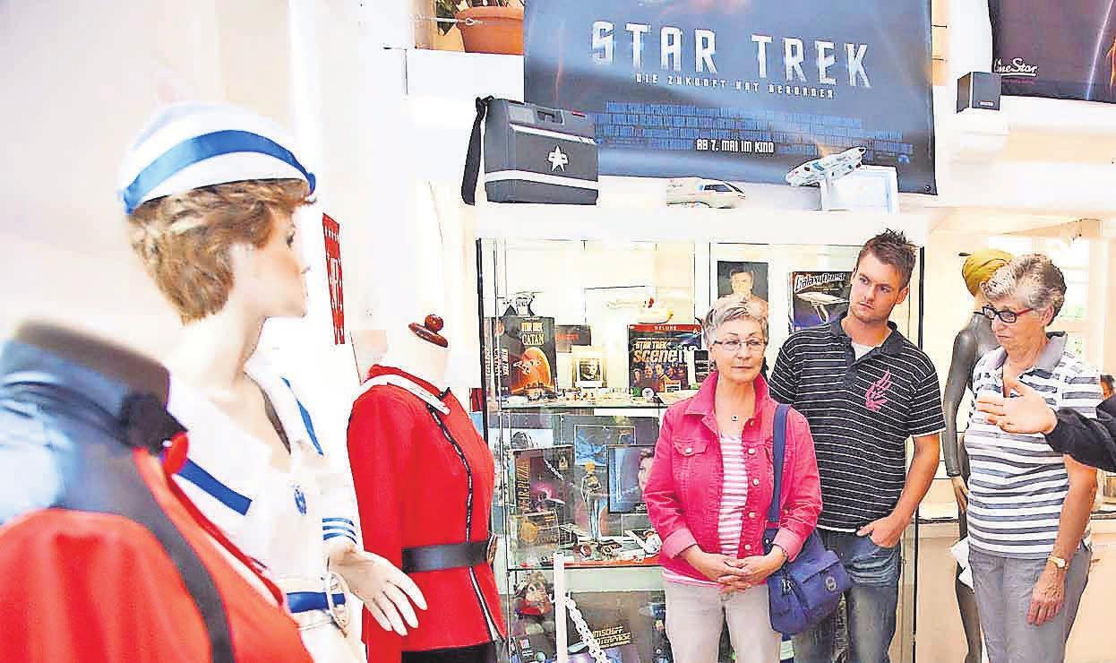 Star Trek,  Malerei und Stadtgeschichte: Gleich vier interessante Ausstellungen gibt es in Burgdorf zu sehen.