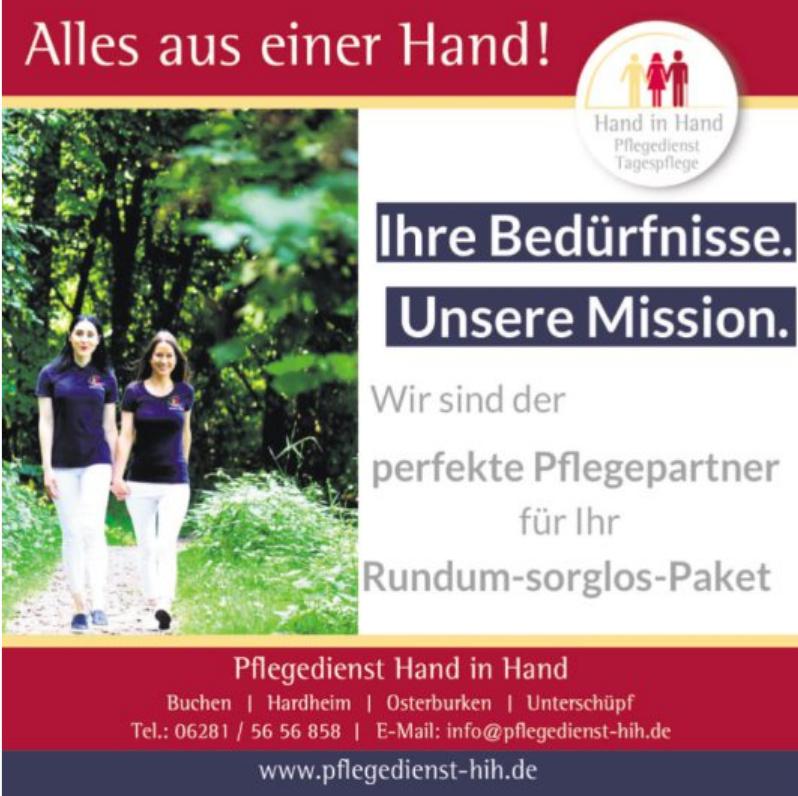 Pflegedienst Hand in Hand