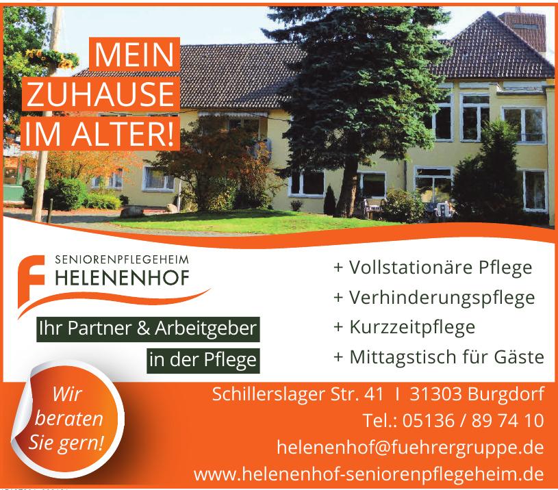 Seniorenpflegeheim Helenenhof